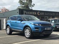 2014 LAND ROVER RANGE ROVER EVOQUE 2.2 SD4 PURE TECH 5d AUTO 190 BHP £23990.00