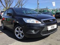 USED 2011 11 FORD FOCUS 1.6 SPORT 5d 99BHP FSH5STAMPS+SATNAV WITH SDCARD+