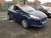 USED 2015 15 FORD FIESTA 1.2 STYLE 5d 59 BHP GOOD SPECIFICATION INCLUDING AIR CONDITIONING, HEATED SCREEN, AUXILLIARY INPUT AND USB. ALSO CHEAP TO RUN WITH LOW CO2 EMISSIONS AND ONLY £30 ROAD TAX! EXCELLENT LOW MILEAGE OF 19915 MILES!