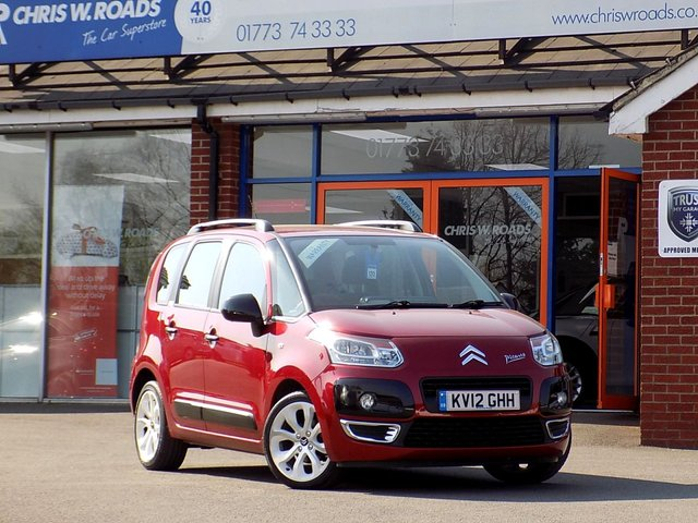 USED 2012 12 CITROEN C3 PICASSO 1.6 PICASSO CODE HDI 5d 90 BHP ** ONLY 39000 MILES **
