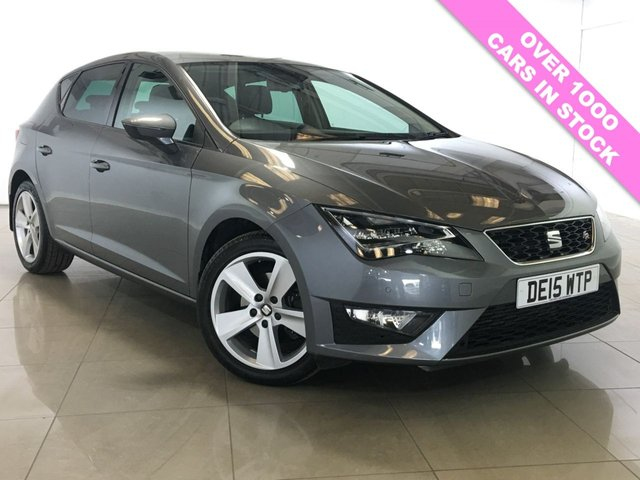 View our 2015 15 SEAT LEON 1.4 TSI FR TECHNOLOGY 5d 150 BHP