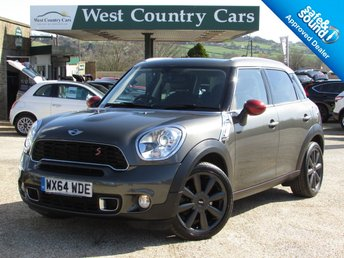 2014 MINI COUNTRYMAN 1.6 COOPER S 5d 184 BHP £13500.00