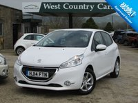 USED 2014 14 PEUGEOT 208 1.4 ACTIVE HDI 5d 68 BHP £0 For A Years Tax And 60MPG