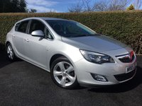 2010 VAUXHALL ASTRA 1.4 SRI 5d 138 BHP GREAT SPECIFICATION AND LOW MILEAGE £SOLD