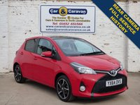 USED 2014 64 TOYOTA YARIS 1.3 VVT-I SPORT 5d 99 BHP Full Service History + Camera 0% Deposit Finance Available