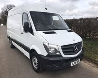 2014 MERCEDES-BENZ SPRINTER 313 CDI MWB £10495.00