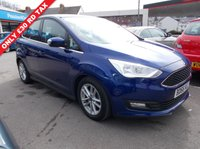 USED 2016 66 FORD C-MAX 1.0 ZETEC 5d 124 BHP 6 x MONTHS WARRANTY.. FINANCE AVAILABLE..