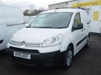 2015 CITROEN BERLINGO 1.6 850 LX L1 HDI 1d 89 BHP THREE SEATS  £5995.00