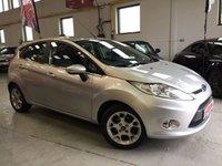 2012 FORD FIESTA 1.2 ZETEC 5d 81 BHP £7495.00