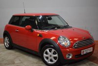 2010 MINI HATCH ONE 1.6 ONE 3 Door Hatchback  £5250.00