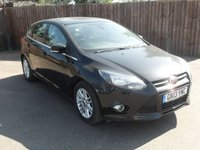 2013 FORD FOCUS 1.6 TITANIUM 5d  WITH CLIMATE CONTROL  AND ALLOY WHEELS £5500.00