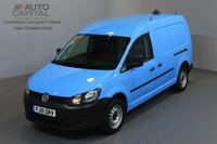 USED 2015 15 VOLKSWAGEN CADDY MAXI 1.6 C20 TDI STARTLIN 101 BHP A/C ONE OWNER FROM NEW, SERVICE HISTORY
