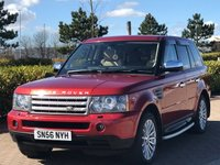 2006 LAND ROVER RANGE ROVER SPORT 2.7 TDV6 HSE 5d AUTO 188 BHP £SOLD