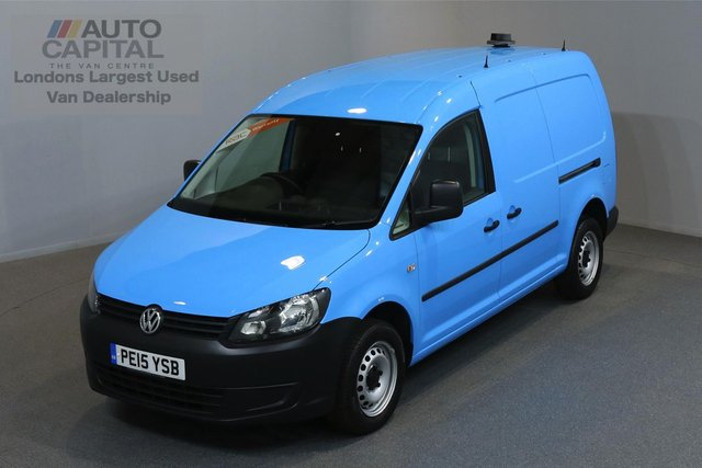 2015 15 VOLKSWAGEN CADDY MAXI 1.6 C20 TDI STARTLINE 101 BHP A/C ONE OWNER FROM NEW, SERVICE HISTORY