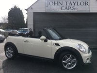 2010 MINI CONVERTIBLE 1.6 COOPER 2d 122 BHP STUNNING CONDITION THROUGHOUT £SOLD