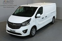 USED 2016 16 VAUXHALL VIVARO 1.6 2900 SPORTIVE 114 BHP L2 H1 LWB LOW ROOF A/C ONE OWNER FROM NEW, MOT UNTIL 29/06/2019