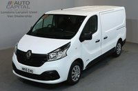 USED 2015 15 RENAULT TRAFIC 1.6 SL29 BUSINESS PLUS 115 BHP SWB LOW ROOF A/C SAT NAV ONE OWNER FROM NEW, AIR CONDITION, NAVIGATION