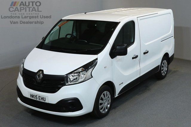 2015 15 RENAULT TRAFIC 1.6 SL29 BUSINESS PLUS 115 BHP SWB LOW ROOF A/C SAT NAV ONE OWNER FROM NEW, AIR CONDITION, NAVIGATION