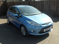 2010 FORD FIESTA 1.4 TITANIUM 5d WITH ALLOY WHEELS AND AIRCON £5250.00