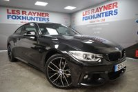 USED 2015 15 BMW 4 SERIES 2.0 420D XDRIVE M SPORT 2d AUTO 188 BHP Full Leather, DAB Radio, Xenons, Automatic, Cruise control