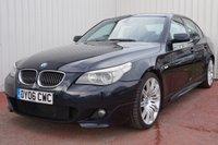 USED 2006 06 BMW 5 SERIES 3.0 535D M SPORT 4d AUTO 269 BHP SERVICE JUST DONE