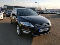 USED 2012 62 FORD MONDEO 2.0 TITANIUM X TDCI 5 DOOR AUTOMATIC 161 BHP IN BLACK WITH ONLY 55000 MILES APPROVED CARS ARE PLEASED TO OFFER THIS FORD MONDEO 2.0 TITANIUM X TDCI 5 DOOR AUTOMATIC 161 BHP IN BLACK WITH A FULL LEATHER INTERIOR,SAT NAV,AIR CON,6 SPEED GEARBOX,AIR CON,ELECTRIC SEATS,HEATED SEATS,CRUISE CONTROL,BLUETOOTH,ALLOYS AND MUCH MORE WITH A FULL SERVICE HISTORY SERVICED AT 7K,15K,18K,27K,37K AND 48K A GREAT ESTATE CAR IN GREAT CONDITION.