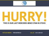 USED 2014 14 MERCEDES-BENZ CITAN 1.5 109 CDI 1d 90 BHP