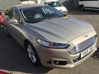2015 FORD MONDEO 2.0 TITANIUM TDCI 5 DOOR AUTOMATIC 177 BHP IN SILVER WITH 63000 MILES. £11990.00