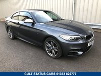 USED 2016 16 BMW 2 SERIES 3.0 M235I 322 BHP MANUAL SAT NAV, RED LEATHER, MANUAL GEARBOX