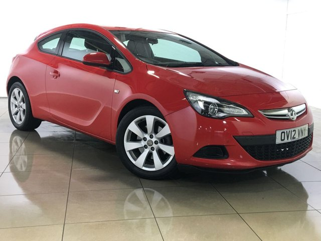 View our 2012 12 VAUXHALL ASTRA 1.4 GTC SPORT S/S 3d 118 BHP