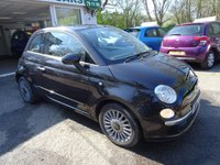 USED 2011 11 FIAT 500 0.9 TWINAIR LOUNGE 3d 85 BHP Low Mileage, Comprehensive Service History + Just Serviced by ourselves, MOT until April 2019 (no advisories), One Previous Owner, Excellent fuel economy! ZERO Road Tax!