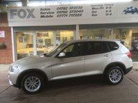 USED 2011 61 BMW X3 2.0 XDRIVE20D SE 5d AUTO 181 BHP BMW X3 2.0 XDRIVE20D SE 5d AUTO 181 BHP