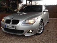 2006 BMW 5 SERIES 2.0 520d M Sport Saloon 4dr Diesel Automatic (185 g/km, 163 bhp) £6995.00