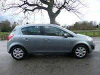 2011 VAUXHALL CORSA 1.4 EXCLUSIV AC 5d AUTO 98 BHP £4995.00