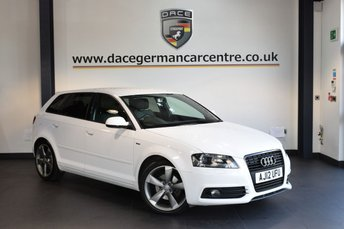 2012 AUDI A3 2.0 SPORTBACK TDI S LINE SPECIAL EDITION 5DR 138 BHP £8940.00