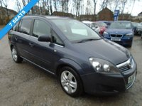 USED 2011 60 VAUXHALL ZAFIRA 1.8 EXCLUSIV 5d 138 BHP **7 Seater**