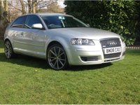 2008 AUDI A3 1.6 Special Edition Hatchback 3dr Petrol Manual (169 g/km, 101 bhp) £SOLD