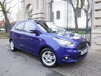 USED 2017 66 FORD KA+ 1.2 ZETEC 5d 69 BHP *** FINANCE & PART EXCHANGE WELCOME *** £ 30 ROAD TAX AIR/CON CRUISE CONTROL BLUETOOTH PHONE  PARKING SENSORS DAB RADIO