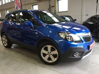 2015 VAUXHALL MOKKA 1.7 EXCLUSIV CDTI 5d AUTO 128 BHP £11995.00