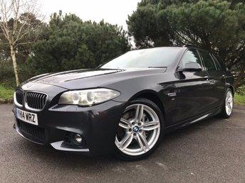 2014 BMW 5 SERIES 3.0 530D M SPORT TOURING 5d AUTO 255 BHP £15950.00