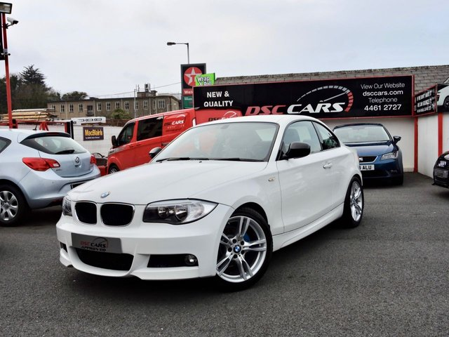 2012 BMW 1 SERIES 2.0 118D SPORT PLUS EDITION 2d 141 BHP