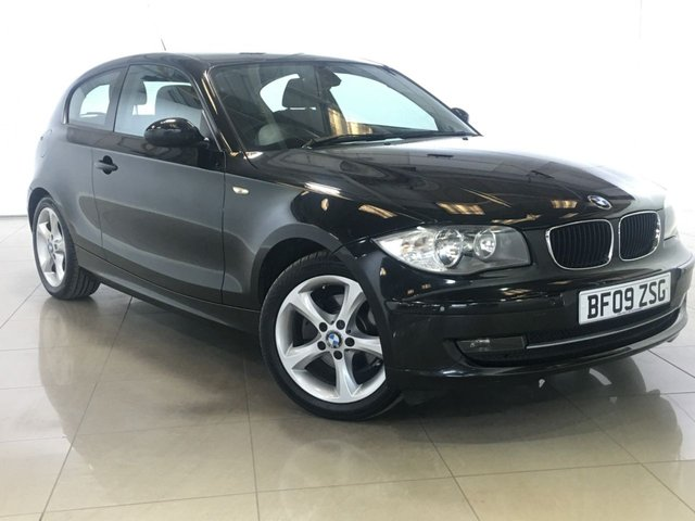 View our 2009 09 BMW 1 SERIES 2.0 118D EDITION ES 3d 141 BHP