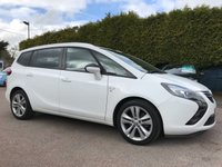 2015 VAUXHALL ZAFIRA TOURER 2.0 CDTI SRI  5d  7 SEATS AND ONE PRIVATE OWNER FROM NEW £10000.00