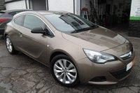 2013 VAUXHALL ASTRA 1.4 GTC SRI S/S 3d 138 BHP £7650.00