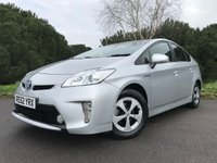 USED 2012 62 TOYOTA PRIUS 1.8 T3 VVT-I 5d AUTO 99 BHP ONE OWNER PRIUS WITH FULL TOYOTA SERVICE HISTORY REV CAMERA JUST SERVICED