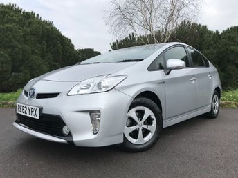 2012 TOYOTA PRIUS 1.8 T3 VVT-I 5d AUTO 99 BHP £10750.00