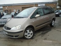USED 2003 53 FORD GALAXY 1.9 GHIA TDDI 5d 130 BHP GREAT VALUE+LOTS OF HISTORY