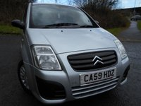 USED 2009 59 CITROEN C2 1.1 VT 3d 60 BHP ** LOW INSURANCE , LOW TAX **