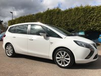 USED 2015 15 VAUXHALL ZAFIRA TOURER 1.4 SRI TURBO 5dr. 3 MAIN DEALER SERVICE STAMPS AND 1 PRIVATE OWNER FROM NEW NO DEPOSIT PCP/HP FINANCE ARRANGED, APPLY HERE NOW