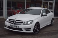 2013 MERCEDES-BENZ C CLASS 2.1 C220 CDI BLUEEFFICIENCY AMG SPORT PLUS 2d AUTO 168 BHP £13490.00